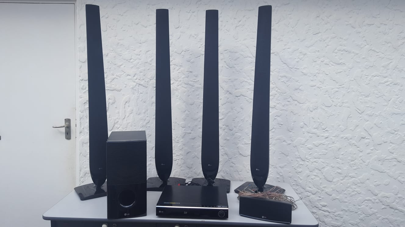 LG Blu-ray 5.1 home theatre sound system