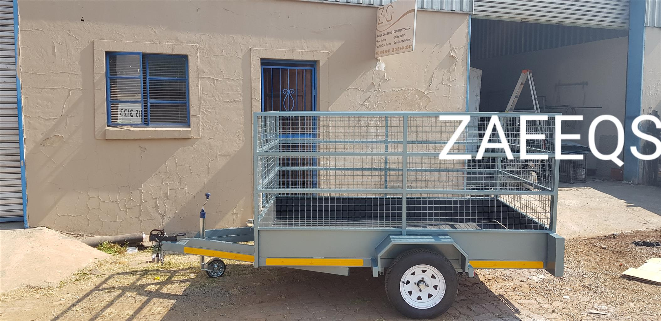 Cattle Trailers...Brand New with Free Sparewheel!