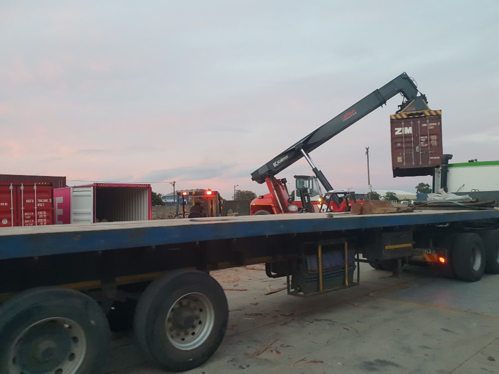 Reach Stacker (Container Handler) Port Elizabeth