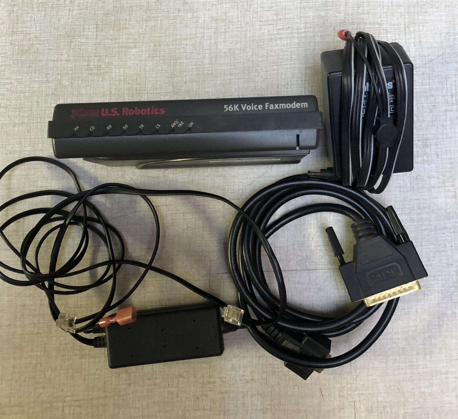 U.S. Robotics internet 56K modem