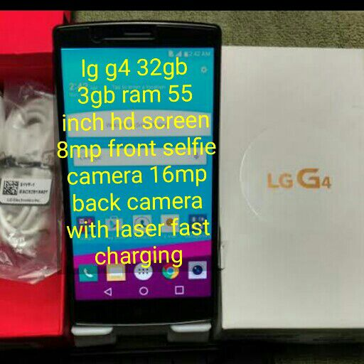 LG g4 32gb with box to swop