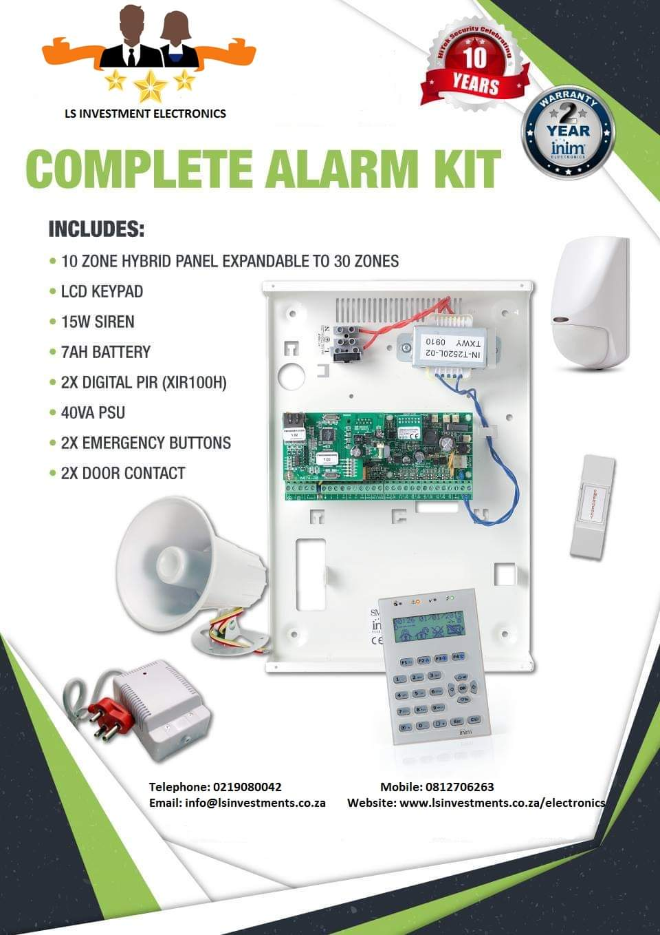 SECURITY SYSTEMS CCTV ALARM INTERCOM DRIVEWAY GATE & GARAGE AND HOME AUTOMATION
