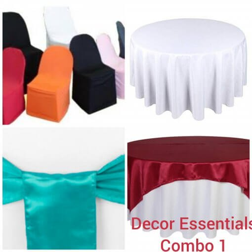 Table Cloth Starter Pack Silver for sale