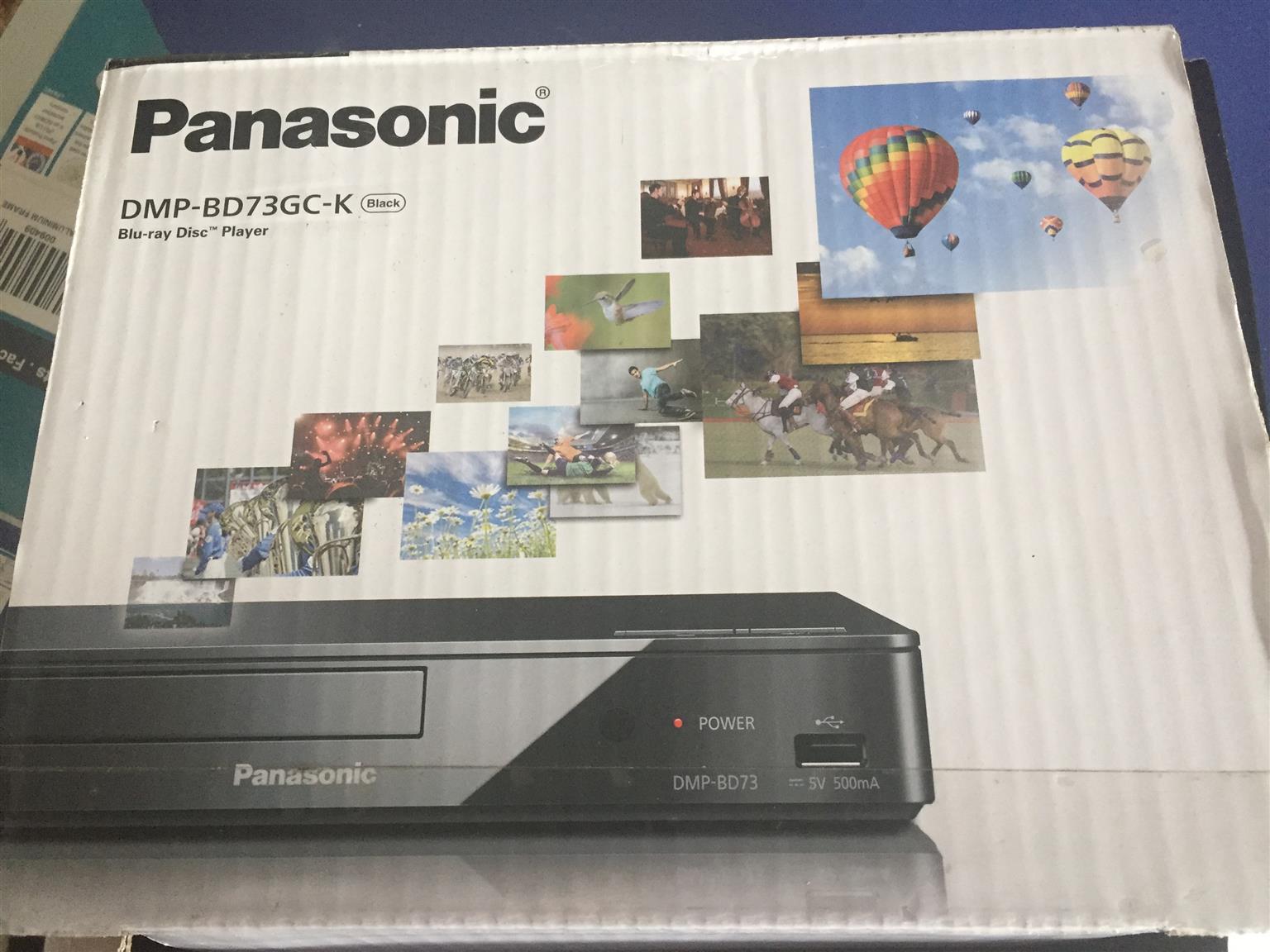 Brand new Panasonic Blue-ray Disk Player DMP-BD73GC-K