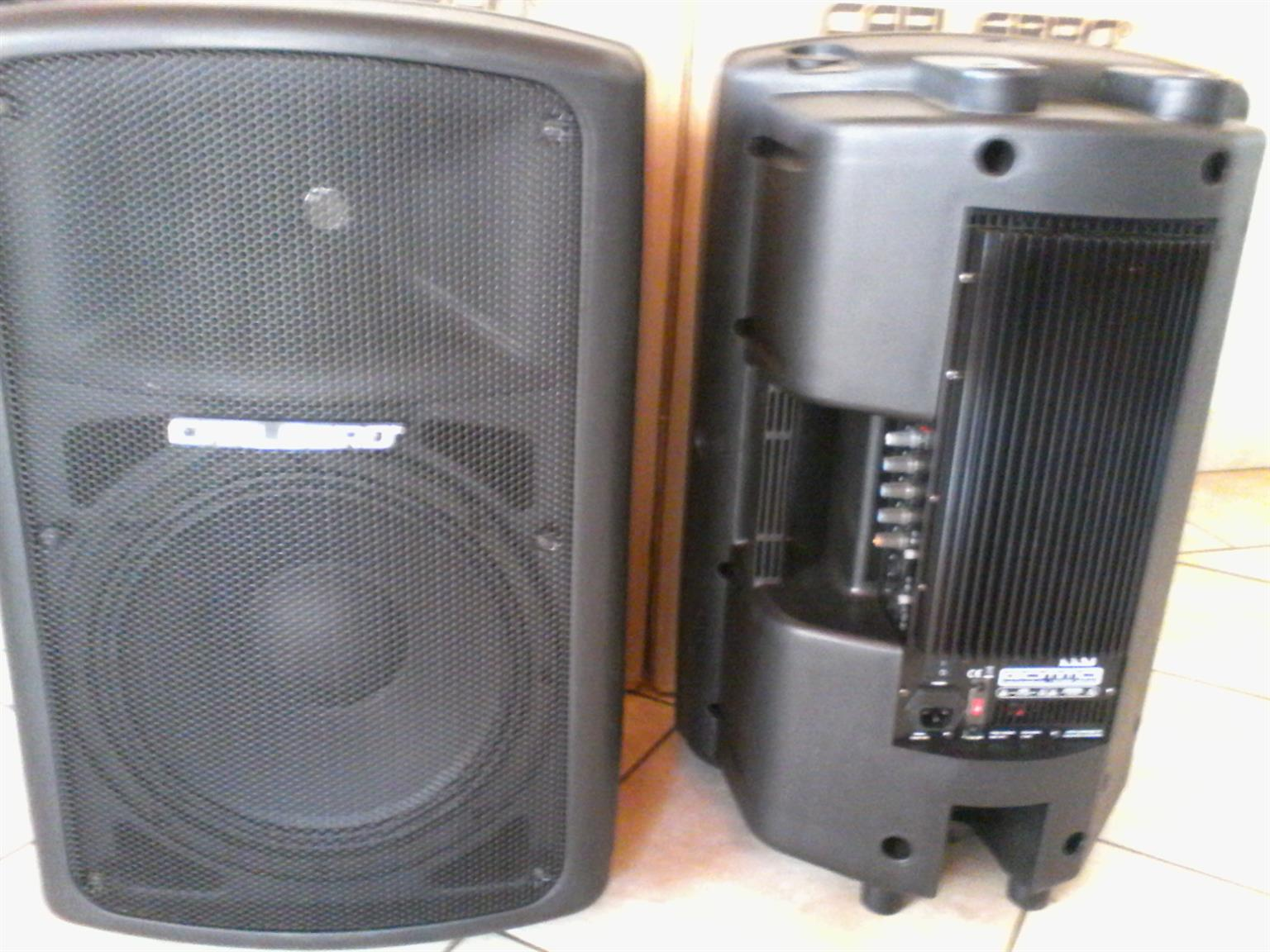 Carlsbro active speakers