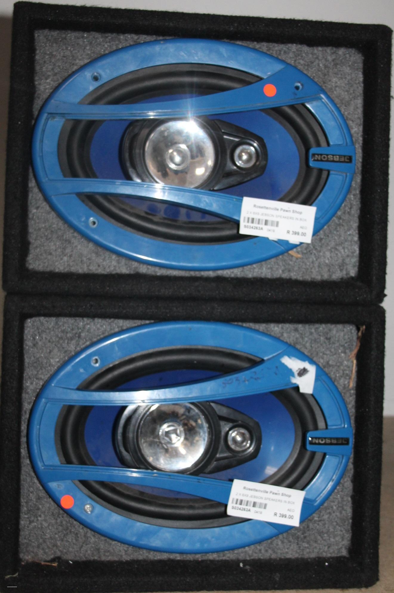 S034263A 2 X 6x9 Jebson speakers #Rosettenvillepawnshop