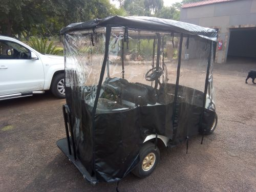Rain Cover for a 4 seater golf cart
