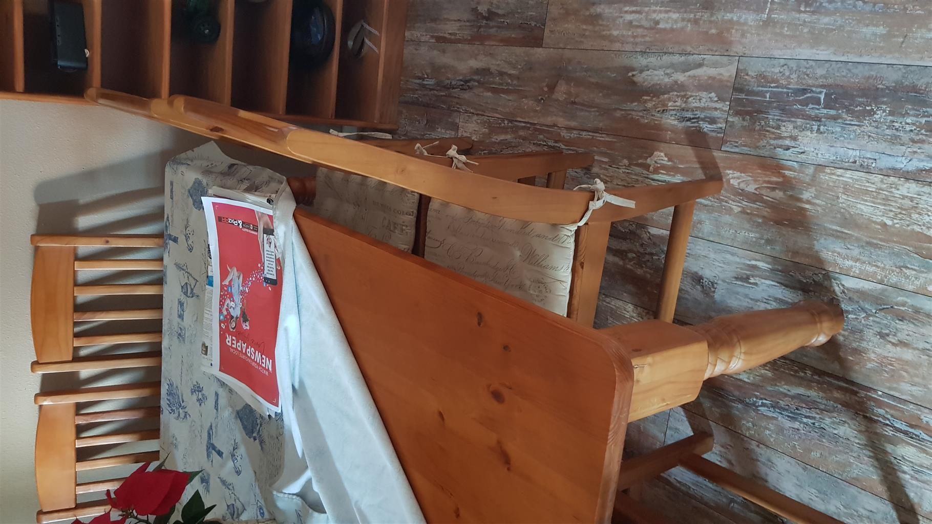 Oregon pine dining room
