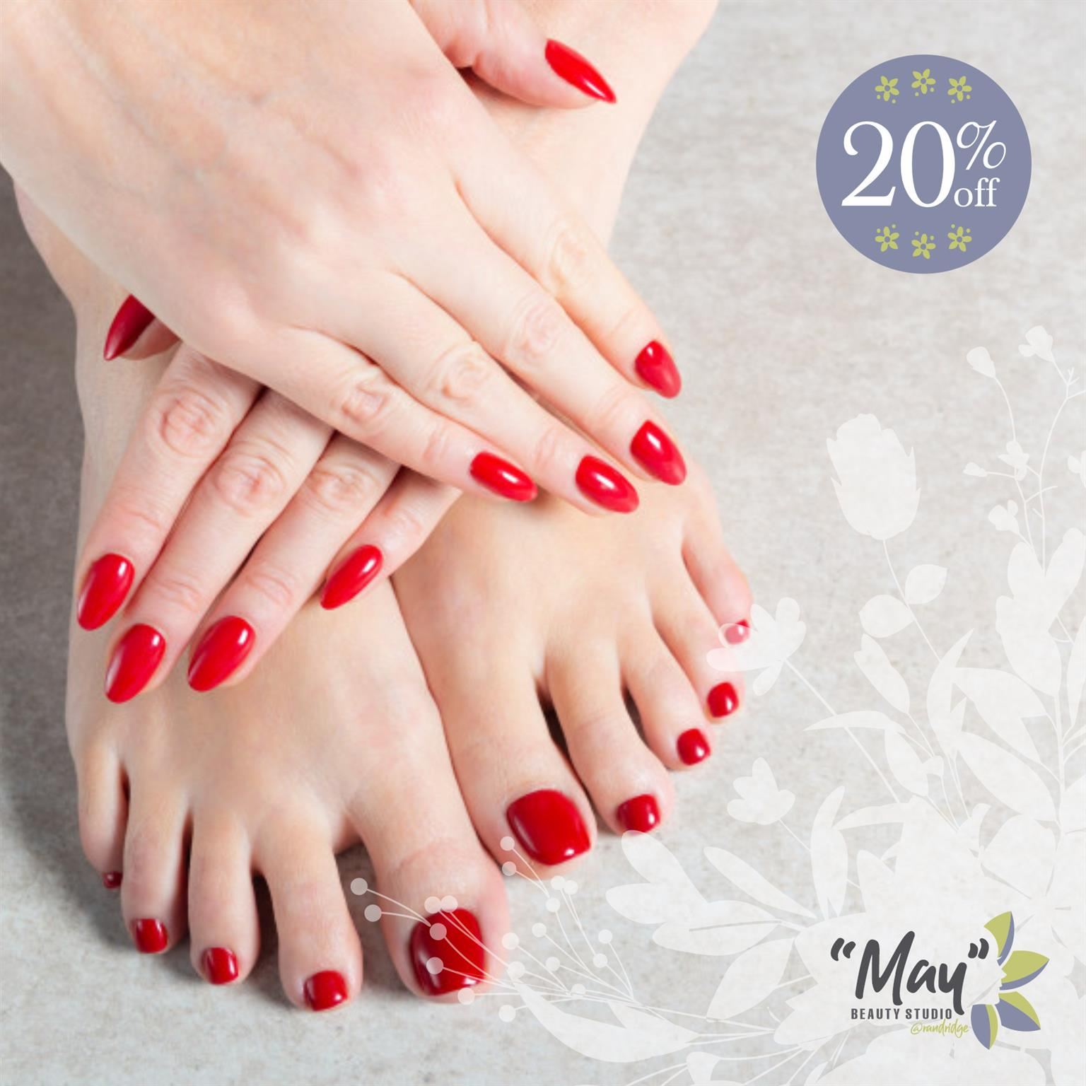 20% Discount on Perfectly Painted Nails