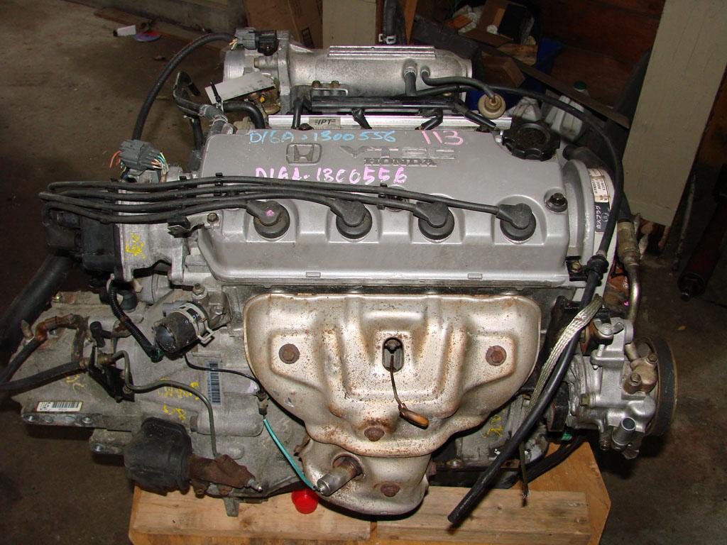 HONDA CIVIC/CRX 1.6 16V D16 Engines