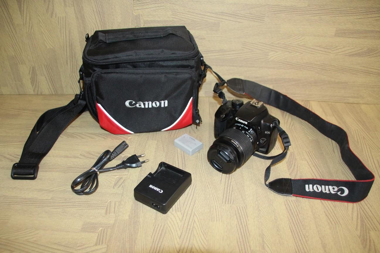 Canon EOS 1000D SLR Camera