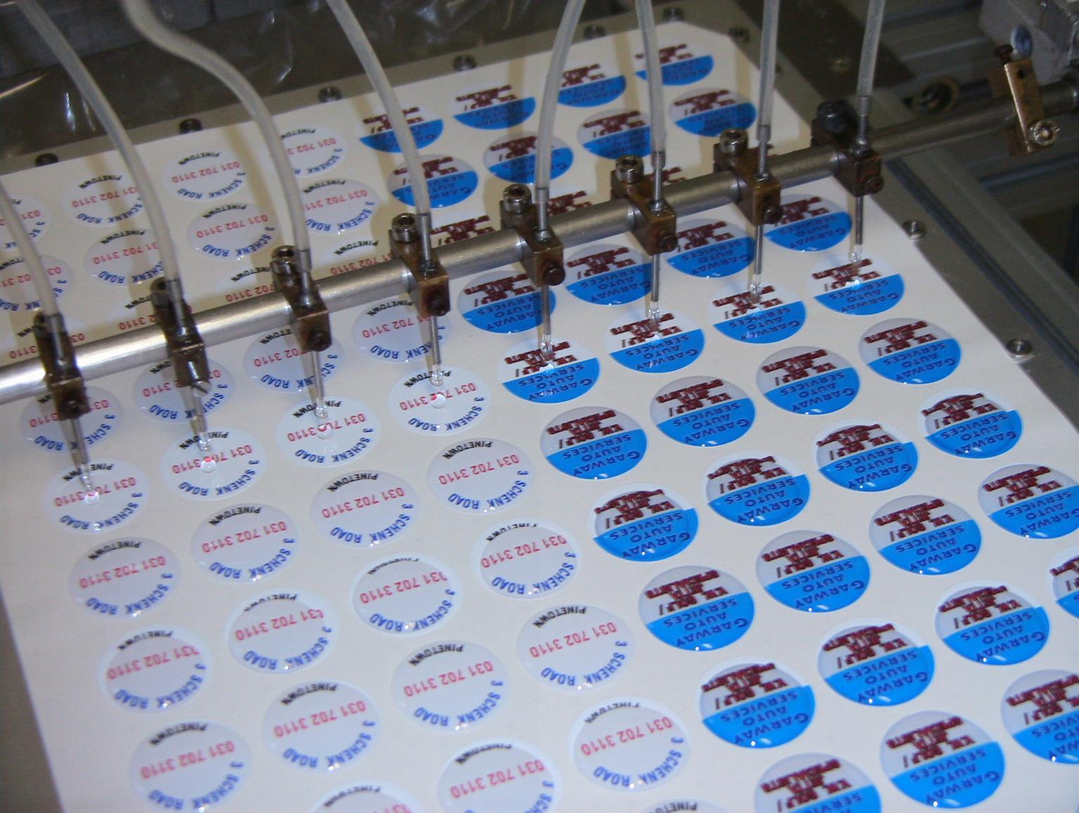 Flexi dome Labels Equipment
