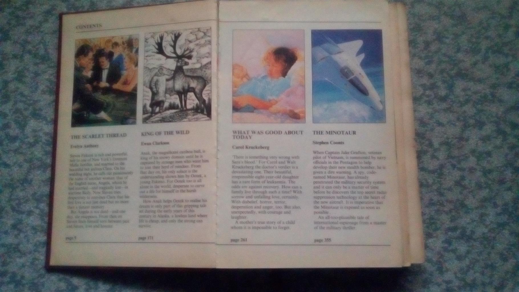 Reader's Digest Condensed Book x 8