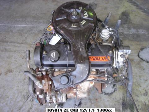 TOYOTA COROLLA/TAZZ 1.3L, 2E Engine