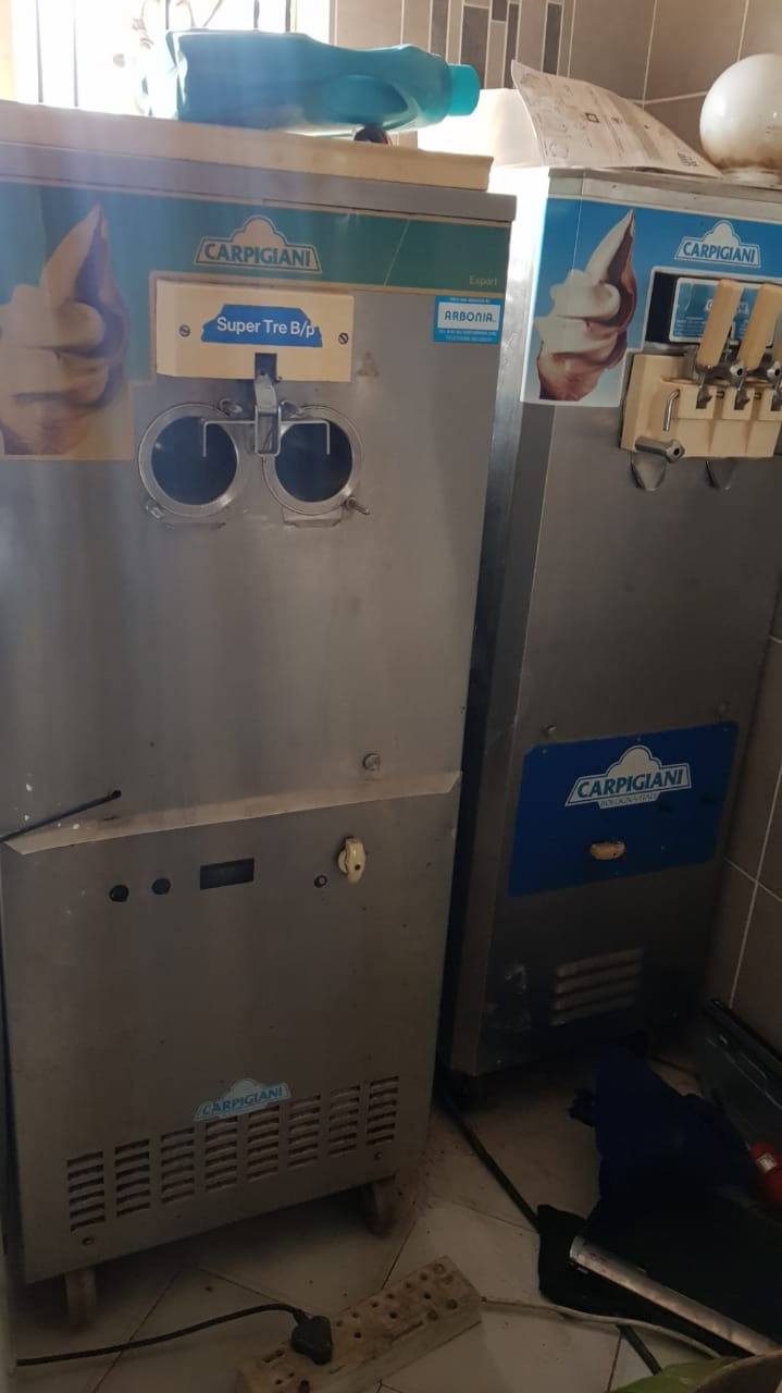 Carpigiani soft serve ice cream machine