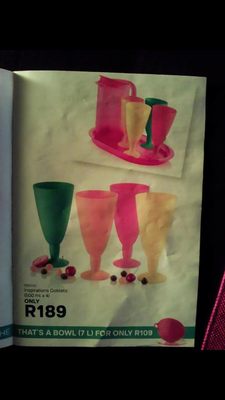Tupperware set at reasonable price at +27720118815