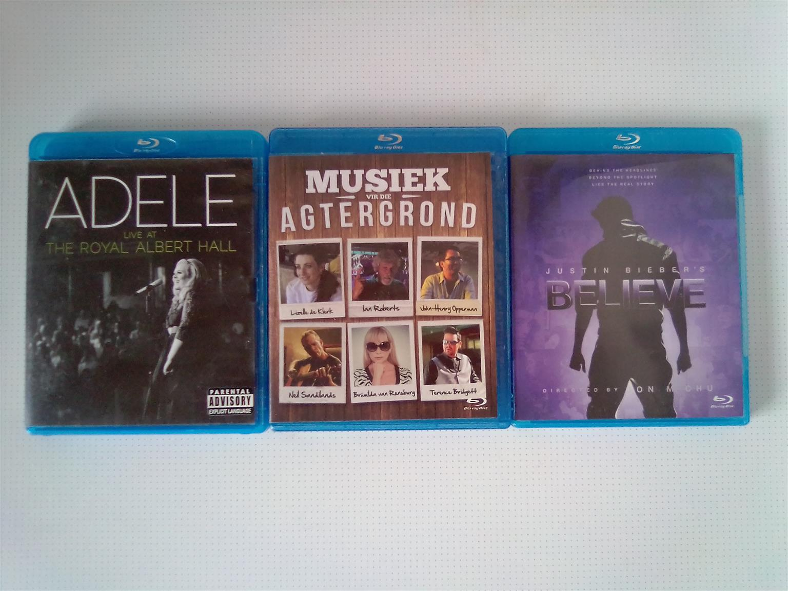 Blu-ray Music and Concert DVD. I am in Orange Grove.