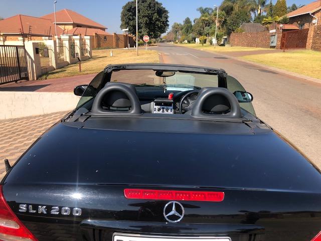 2002 Mercedes Benz SLK 200