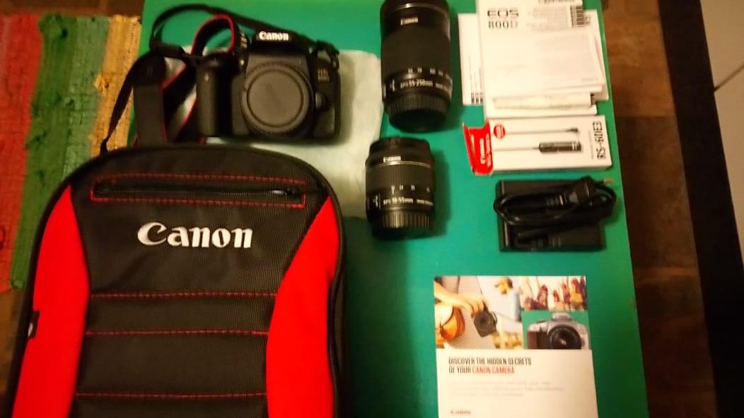 CANON EOS 800D Camera Bundle | Junk Mail