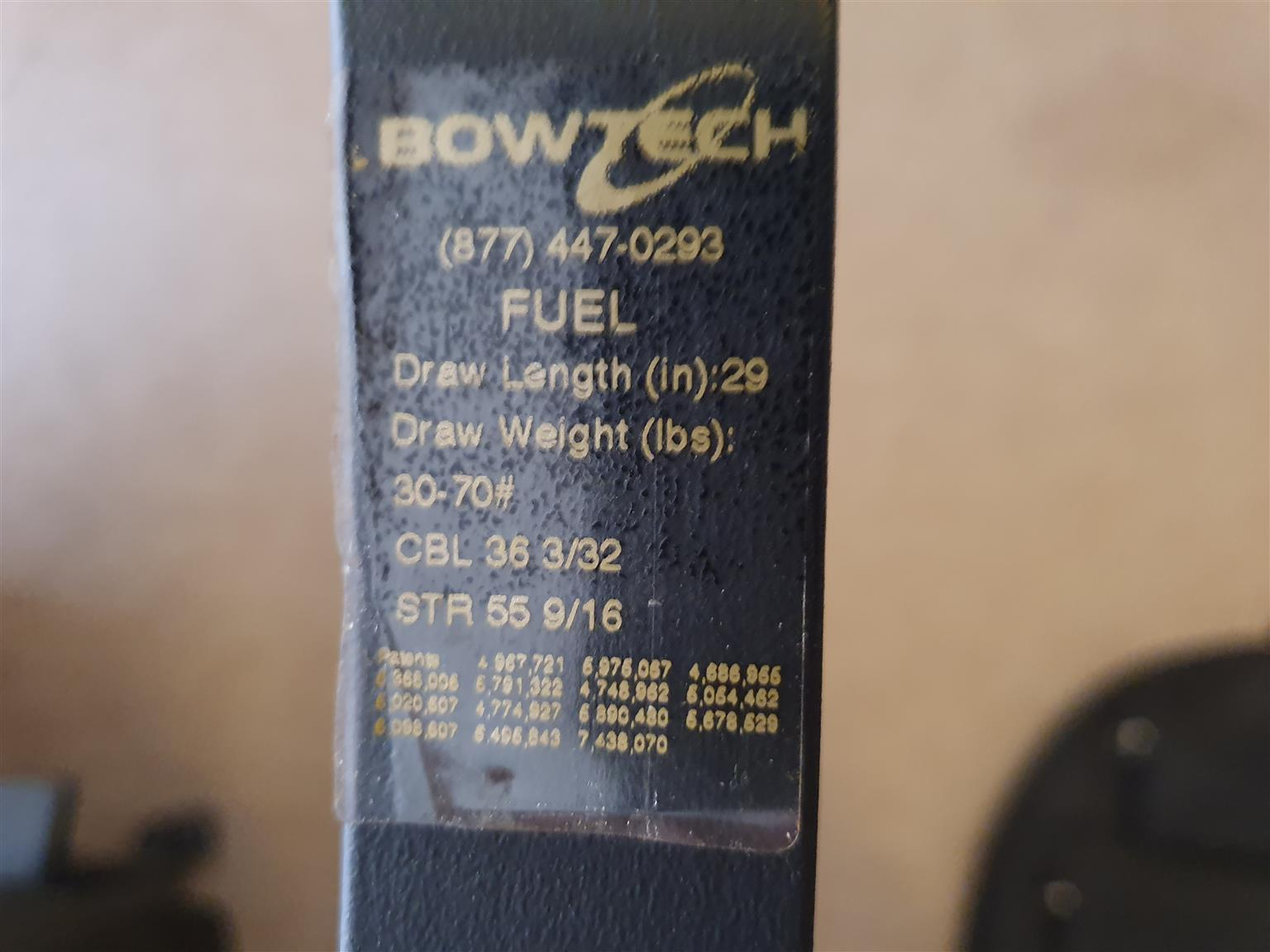 Bowtech Fuel + Rangefinder for sale