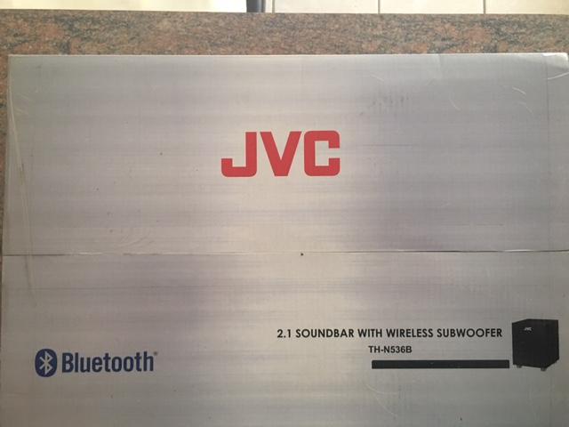 JVC TH-N536B 2.1 Soundbar with Wireless Subwoofer