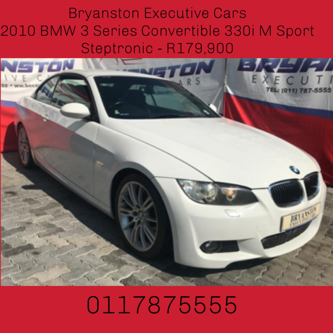 2010 Bmw 3 Series 330i Convertible Auto Junk Mail