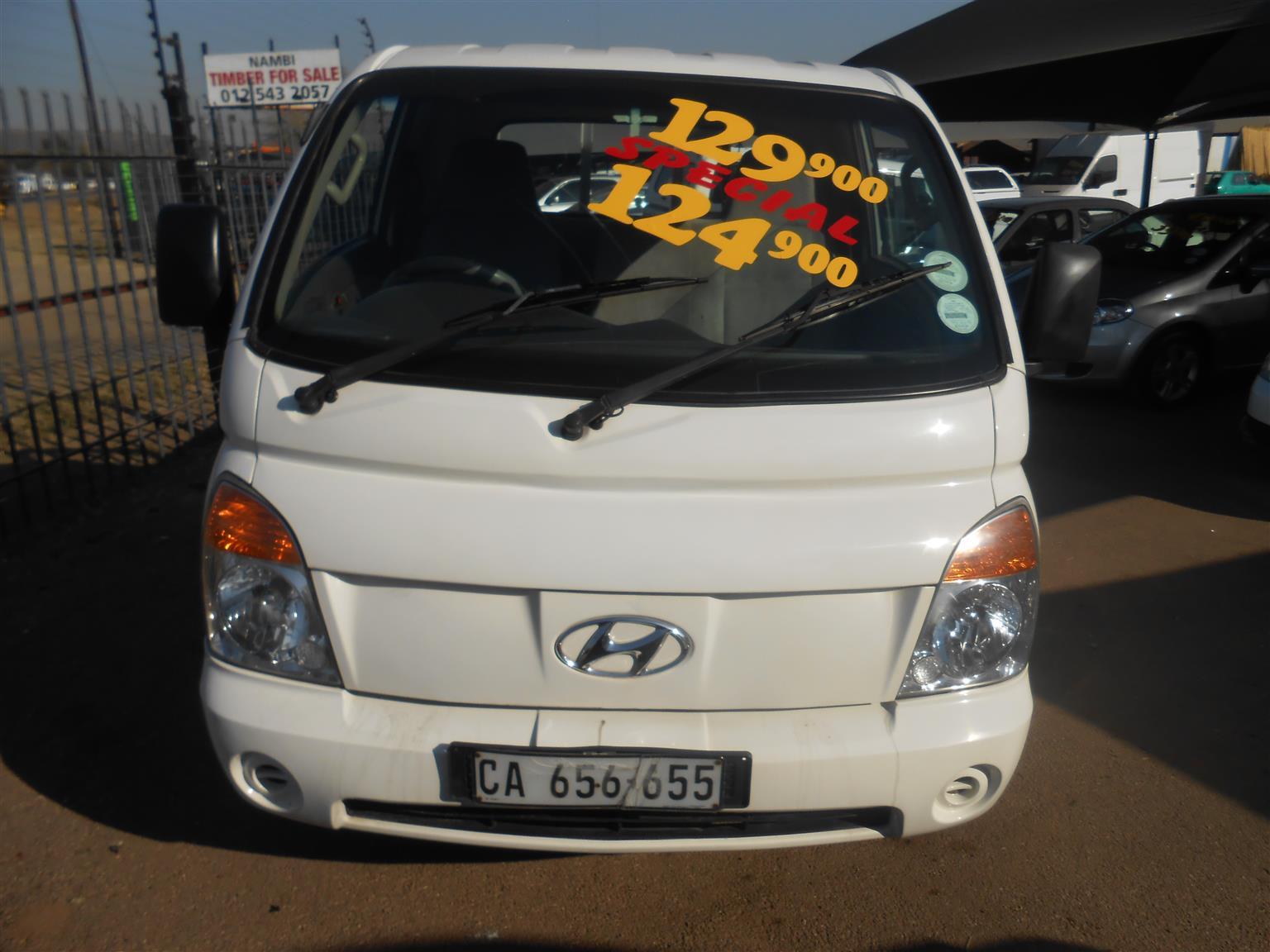 2006 Hyundai H-100 Bakkie 2.6D chassis cab