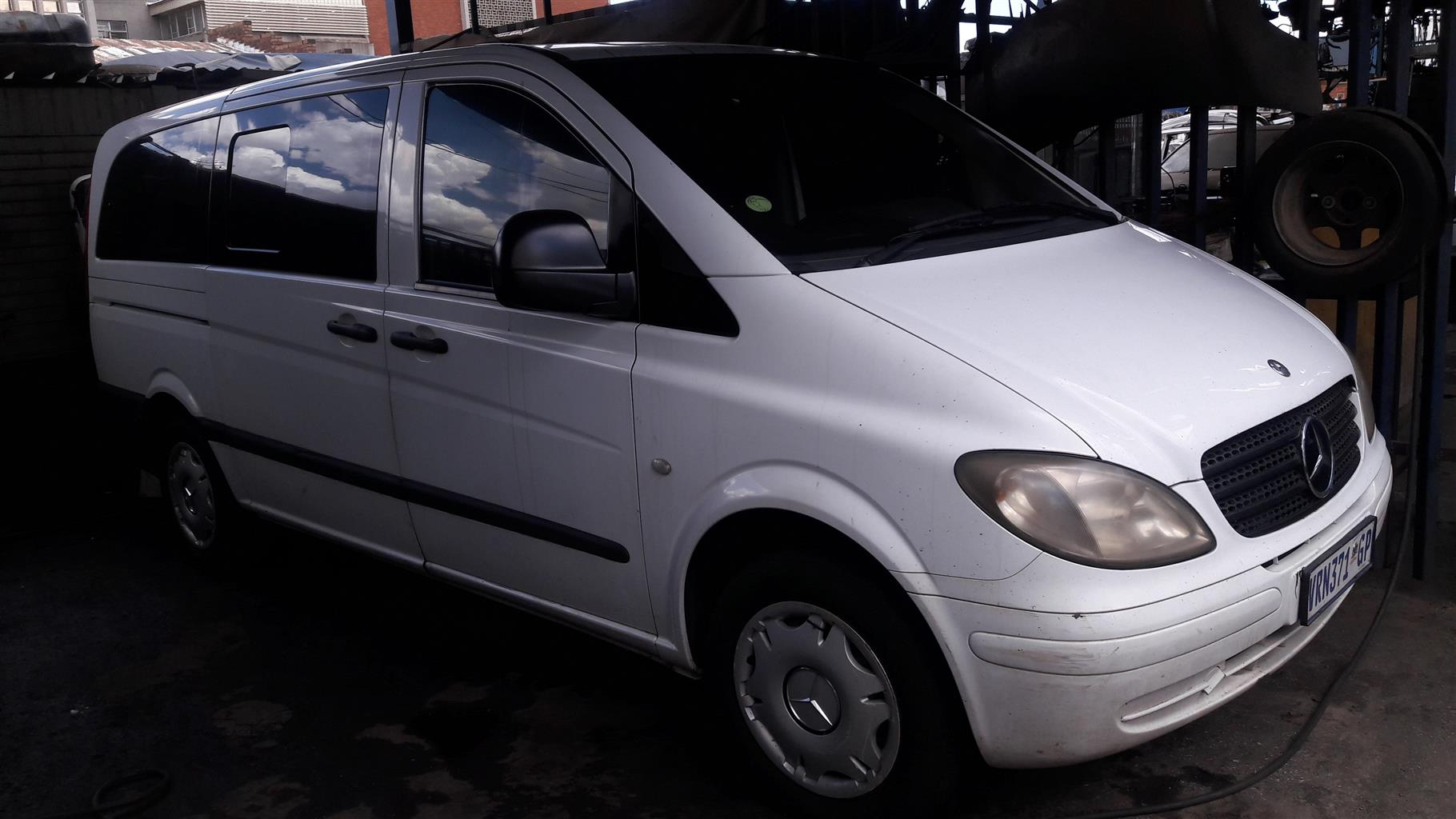 2007 Mercedes Benz Vito 115 CDI 2.2 crew bus XL