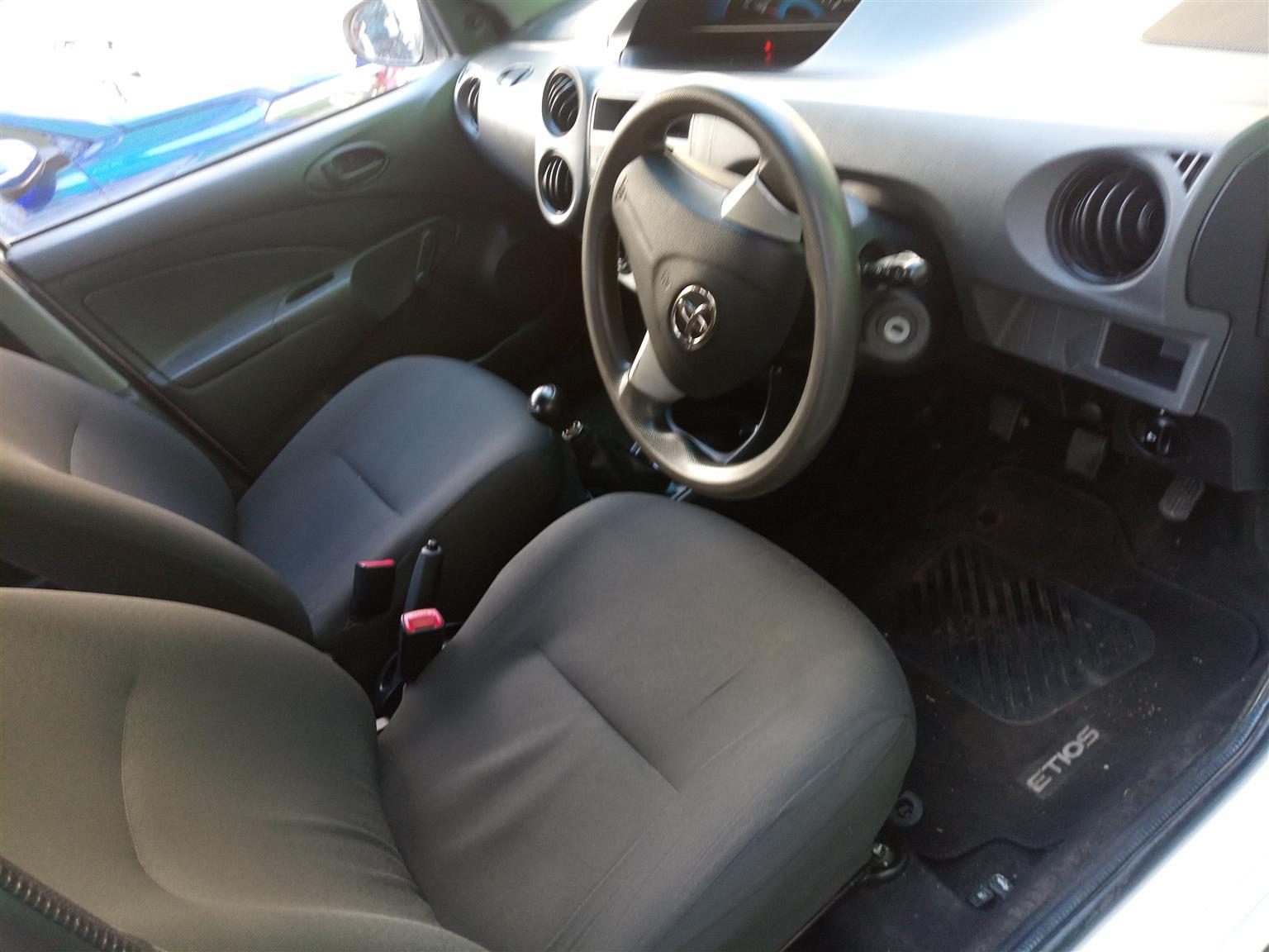 2014 Toyota Etios hatch ETIOS 1.5 Xi 5Dr