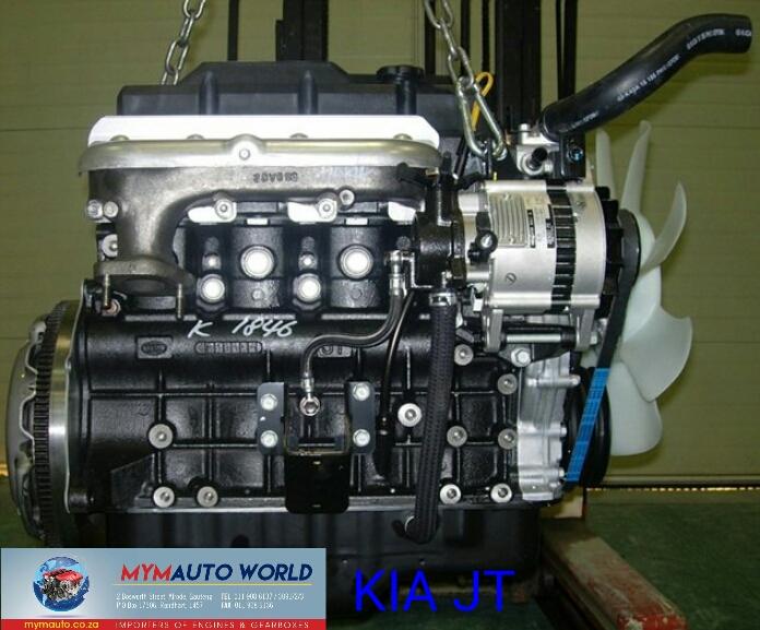 Imported used KIA BONGO 3 0L DIESEL JT engine Complete