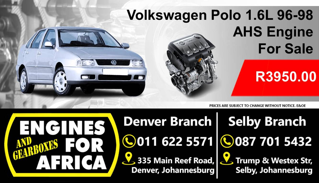 Used Vw Polo 1 6L 96-98 AHS Engine For Sale