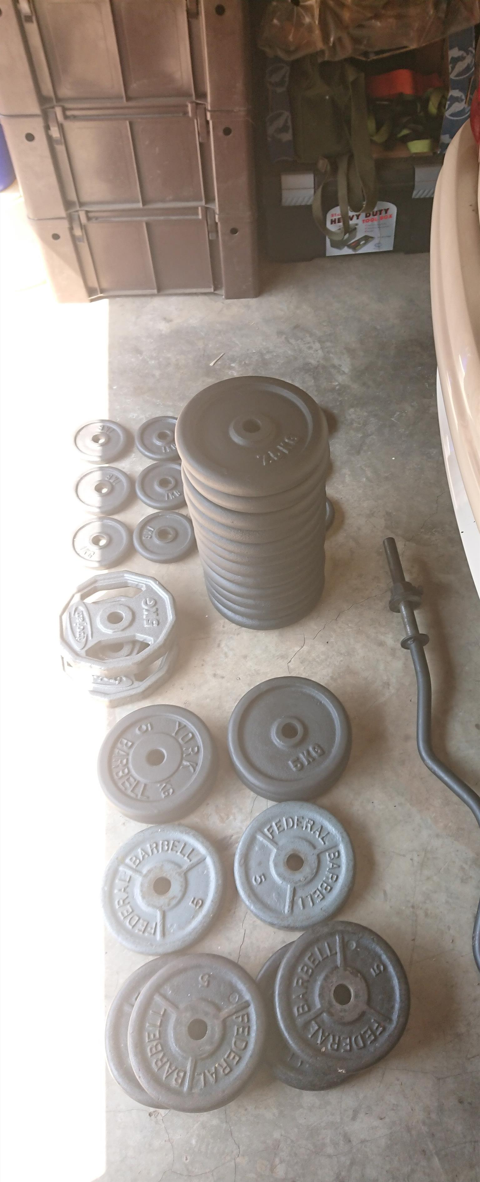 Cast Iron Gym Weights For Sale