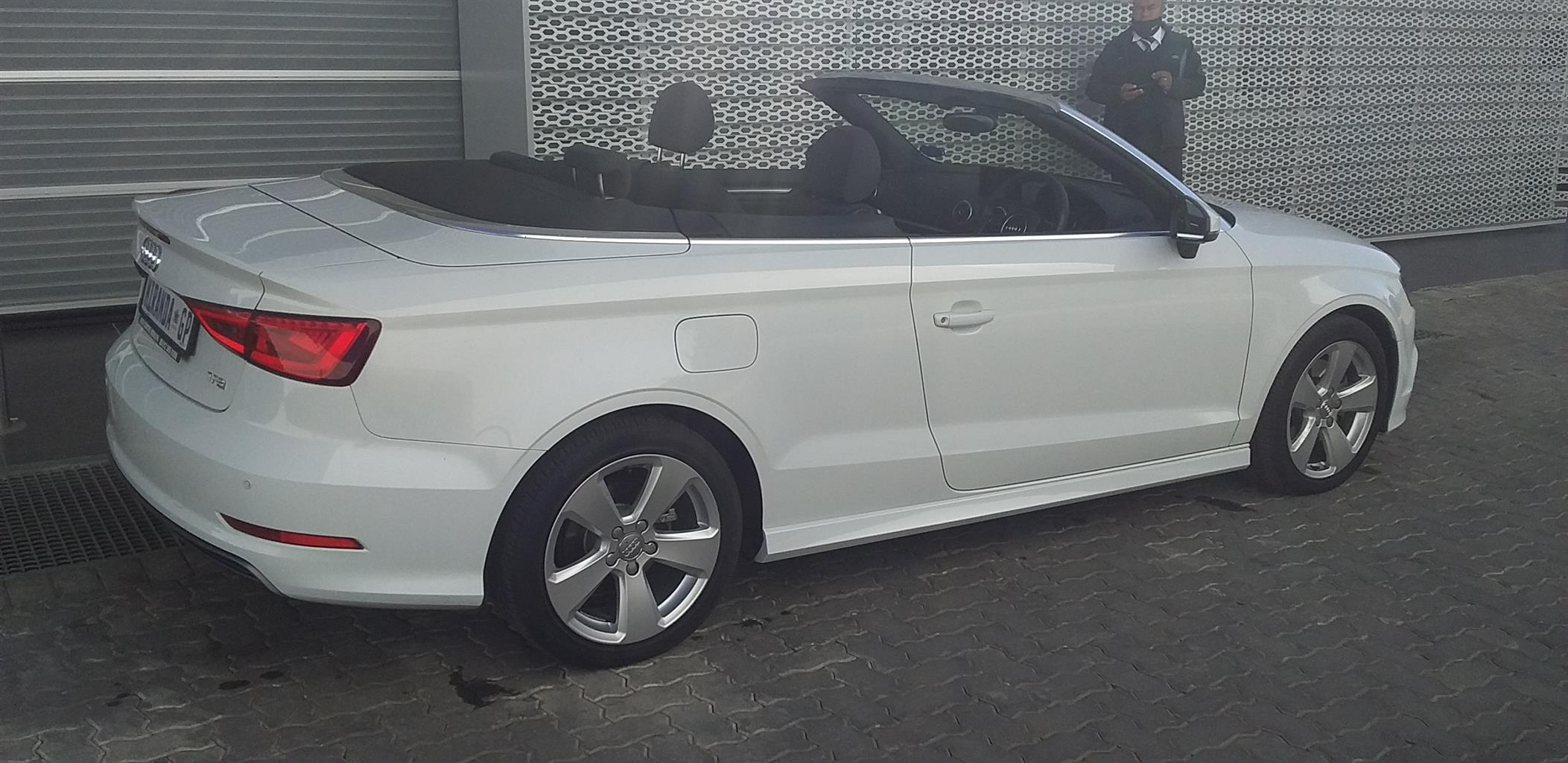 2015 Audi A3 cabriolet A3 2.0T FSI STRONIC CABRIOLET