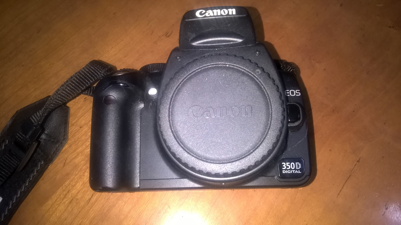Canon 350 D Slr with 2 lenses