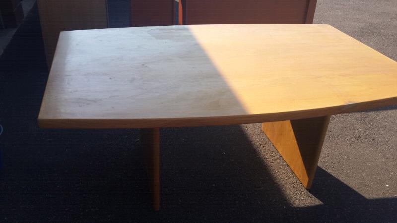 Huge Clearance Sale Oak Boardroom Table Junk Mail - Large boardroom table for sale