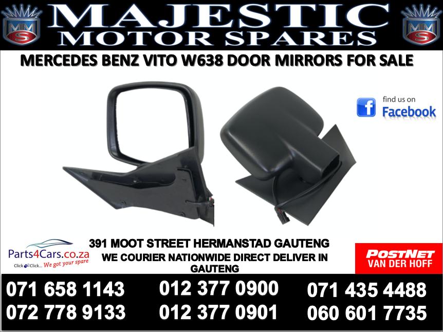 Mercedes benz w638 door mirror for sale
