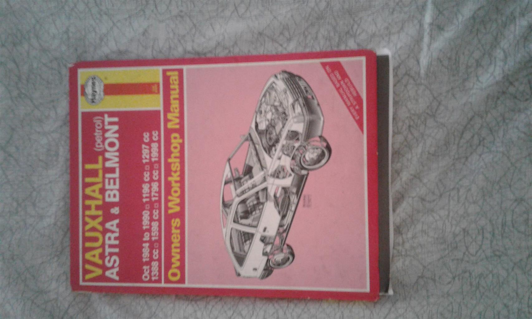 Opel Astra Manual