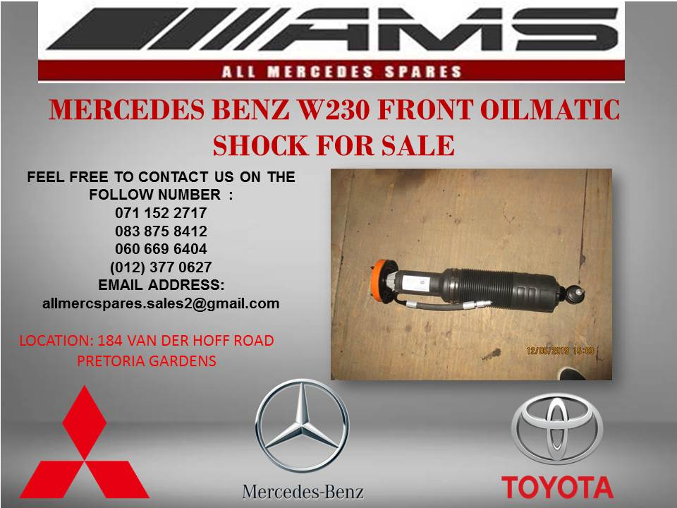 MERCEDES BENZ W230 FRONT OILMATIC SHOCK FOR SALE