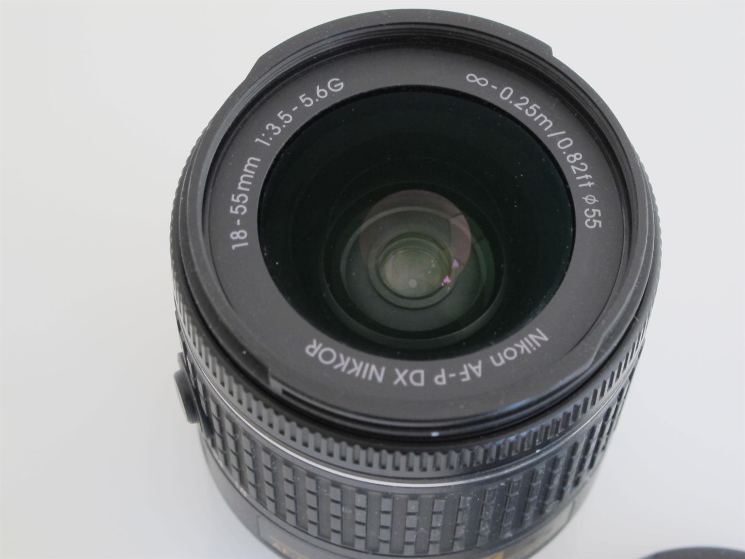 Nikon AF-P DX 18-55MM F/3.5-5.6G ED II Lens