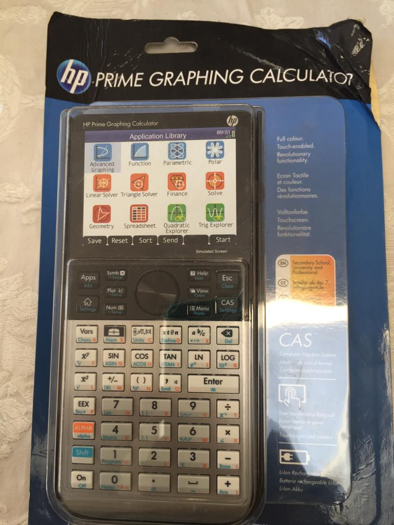 HP Prime Graphing Wireless Calculator - brand new and unused | Junk Mail