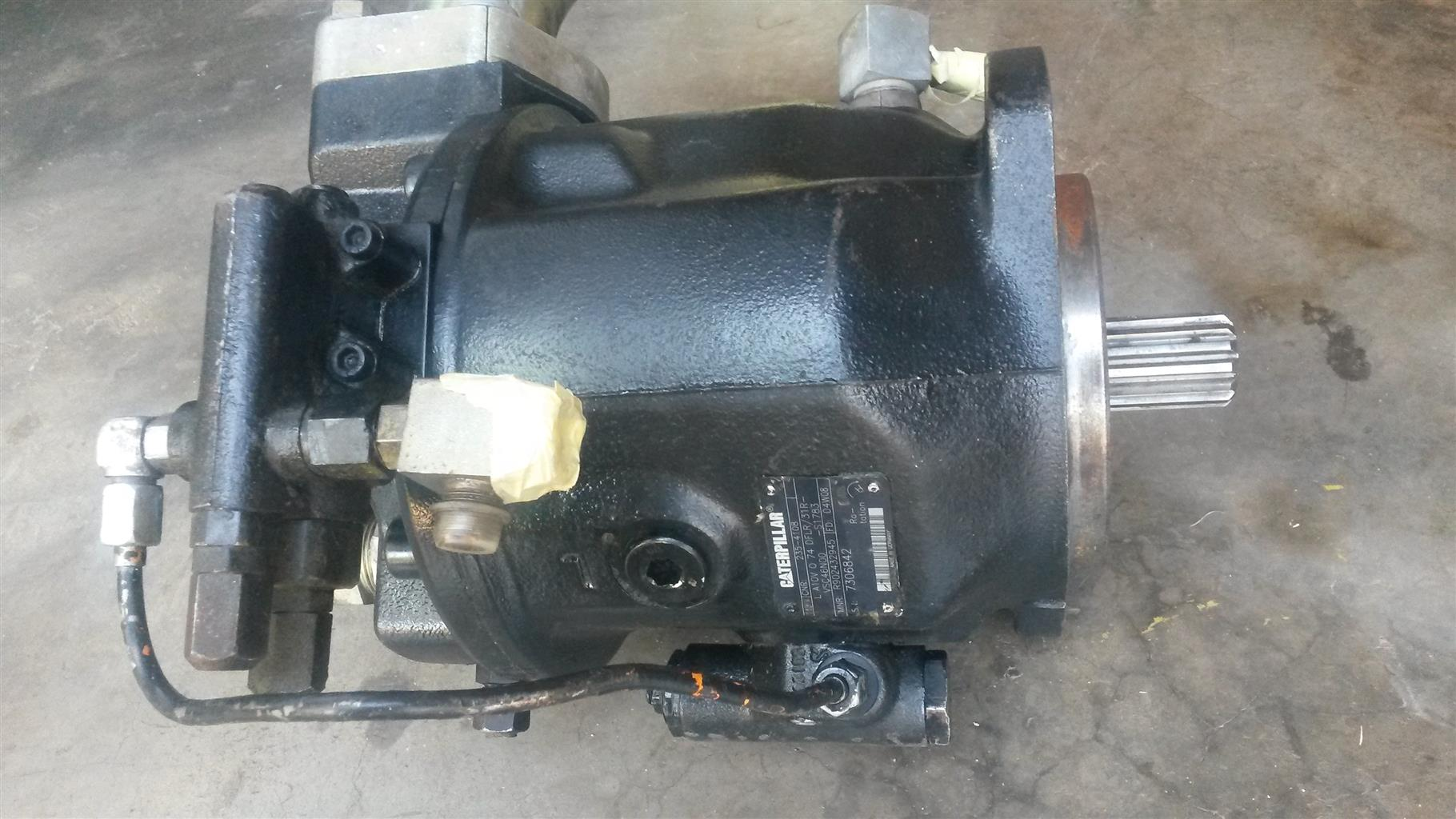 CAT 428B and 424D Hydraulic Pumps for Sale  Reconditioned