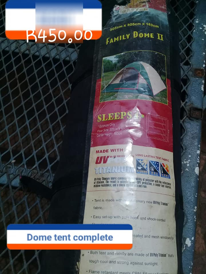 Family Dome tent for sale