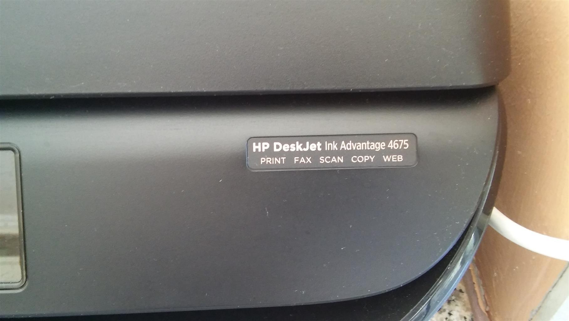 Hp Inkjet Advantage Junk Mail Printer Deskjet Ink 4675 All In One