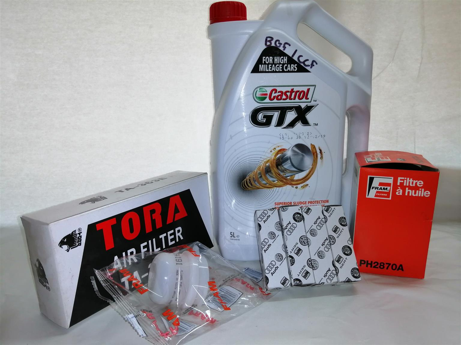 GOLF 1.4 CITI ROX SERVICE KIT