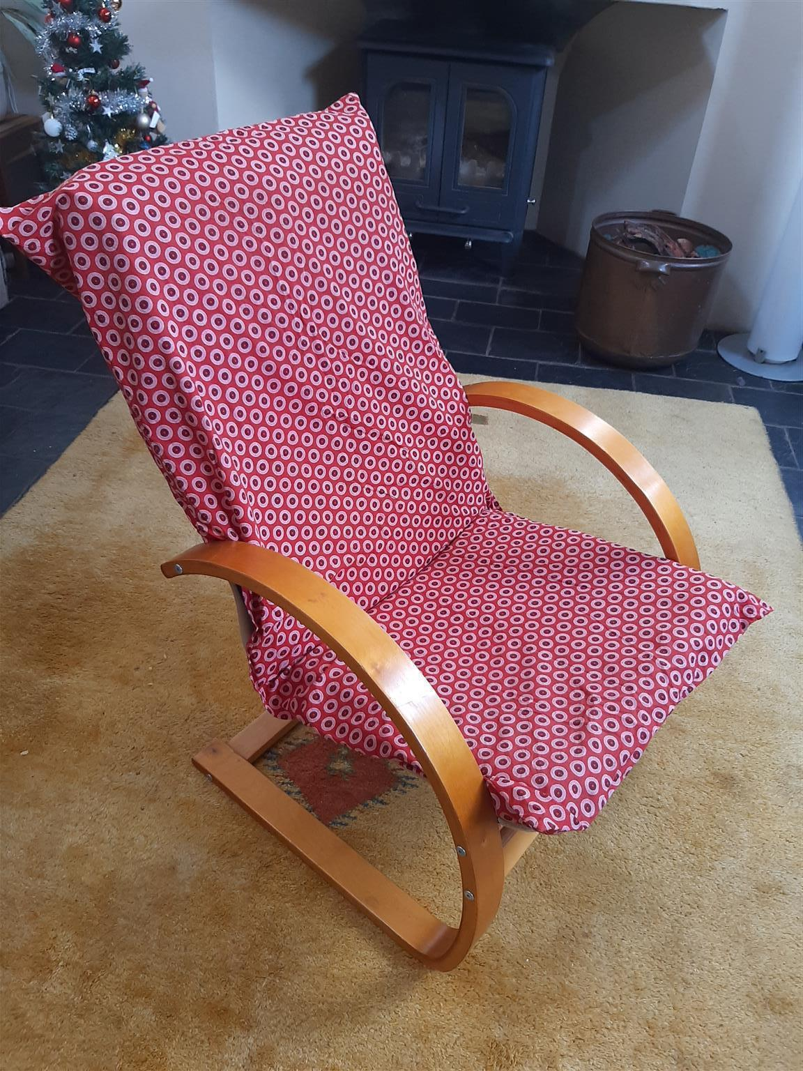 2 Bentwood laminated chairs