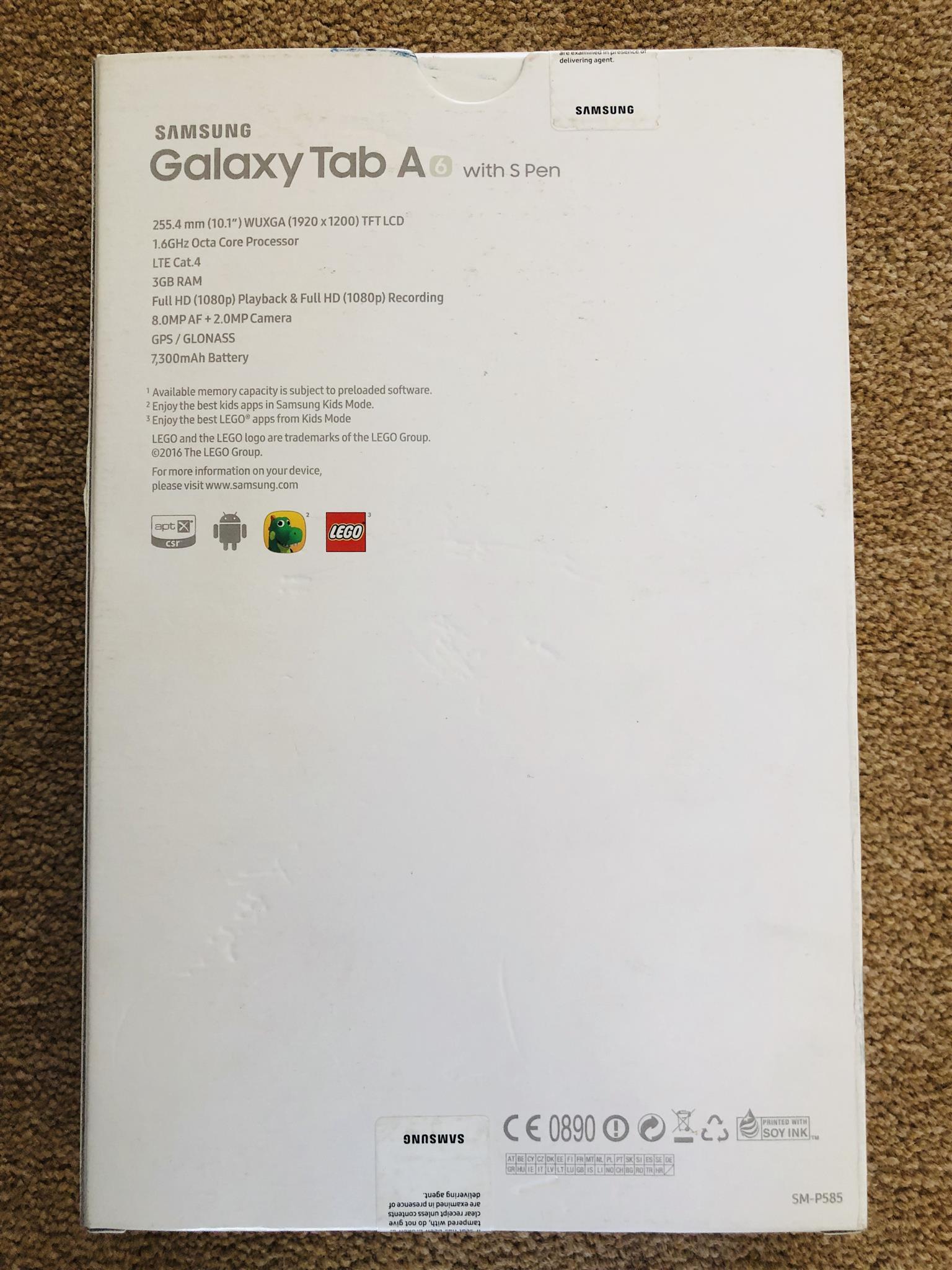 SAMSUNG Galaxy Tab A6 with S Pen ✒️
