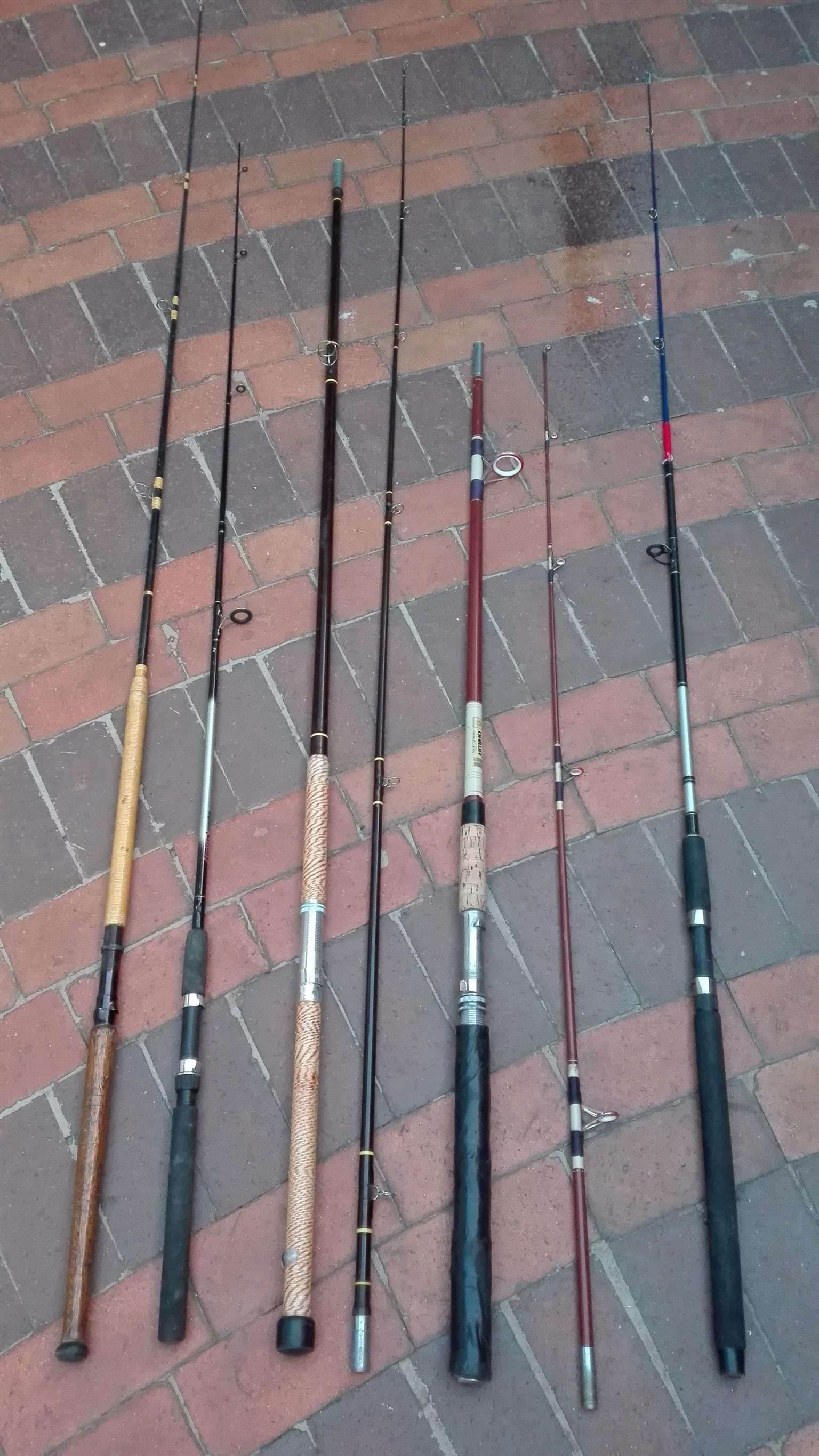 Old Fishing Rods