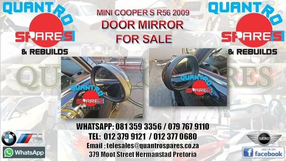 mini cooper s r56 2008 door mirror for sale
