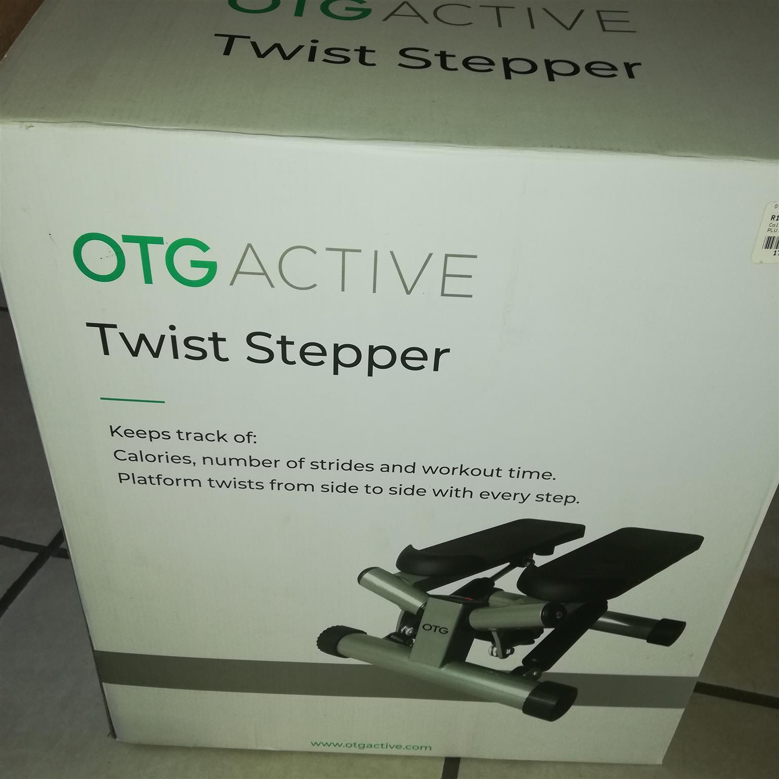 Unwanted wist stepper for sale