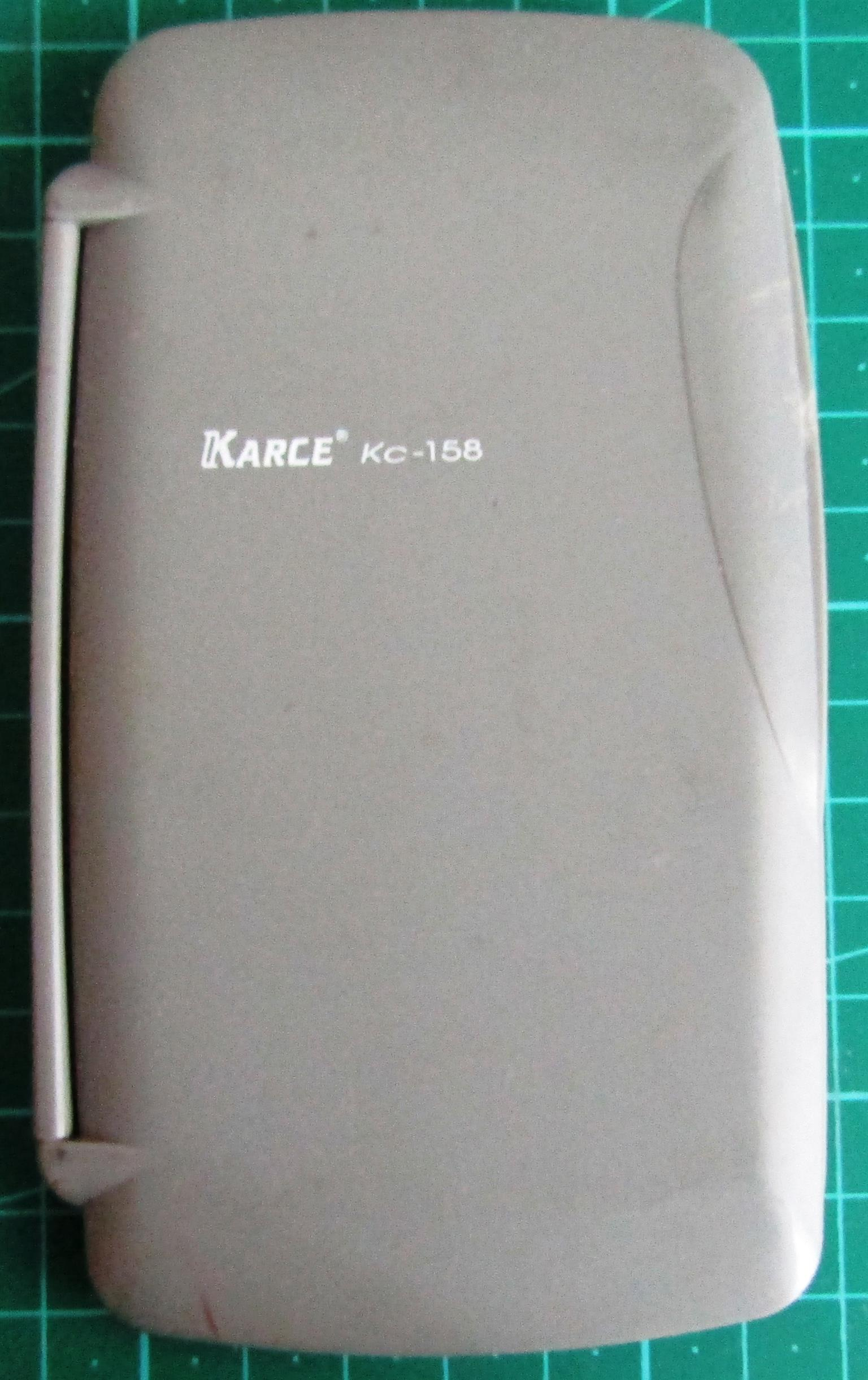 Karce KC-158 Scientific Calculator - Slimline with Cover & Constant Table